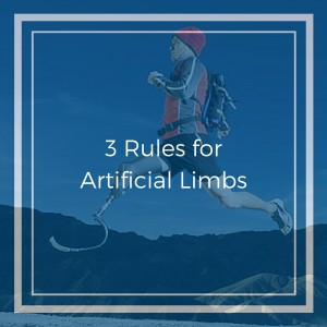 3 Rules for Artificial Limbs